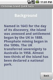 Christmas Island Quick Facts