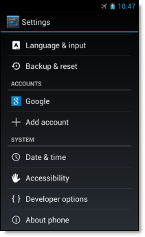 Android SSO Add a Google Account