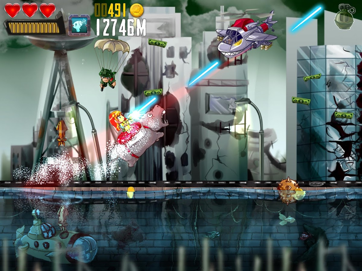 Ramboat: Hero Shooting Game- screenshot