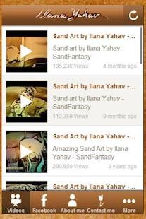 Ilana Yahav - Sand Art - screenshot thumbnail