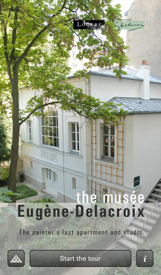Musée Eugène Delacroix - screenshot