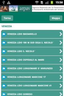 App ARPAV balneazione- screenshot thumbnail