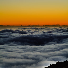 Mar de Nubes. Sea of Clouds. by Martín Silva Cosentino - Landscapes Cloud Formations ( sea of clouds, mountain, sunset, landscape photography, forest,  )