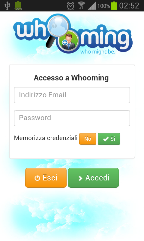 Whooming - screenshot