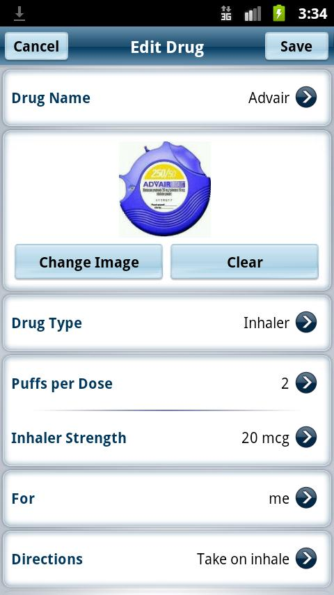Dosecast - Medication Reminder- screenshot