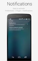 Screenshot of Plugin Notifications