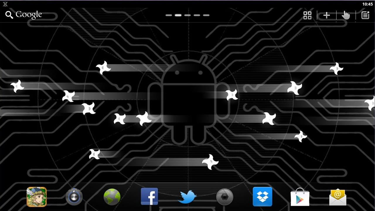 Next Nexus Live Wallpaper PRO - screenshot