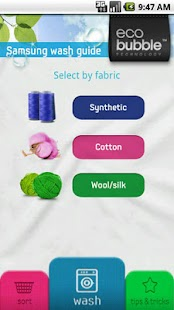 Samsung Wash Guide – Miniaturansicht des Screenshots