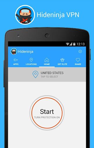 Screenshots #8. VPN Hideninja Best Free VPN / Android