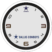 Cowboys Clock Widgets
