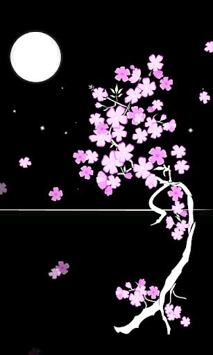 Sakura Moon Live Wallpaper