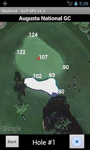 PC u7528 Skydroid - Golf GPS Scorecard 2