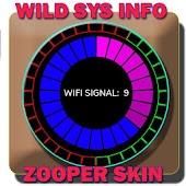 WILD SYSTEM INFO - ZOOPER SKIN