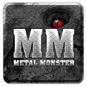 Metal Monster Go SMS Pro Theme icon