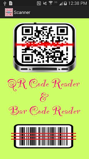 QR Code Barcode Reader
