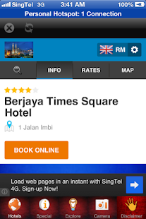 Malaysia Hotel- screenshot thumbnail