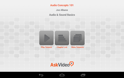 Audio and Sound Basics v1.0