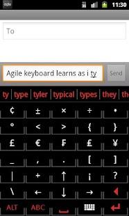 Agile Keyboard Free - screenshot thumbnail