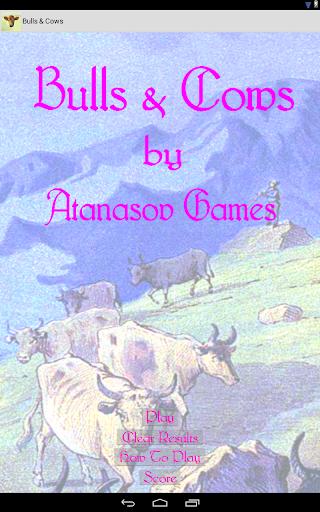 Bulls Cows