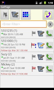 Call Log:  CallTags - screenshot thumbnail