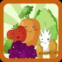 Puppy & Piggy: Kids Vegetables icon