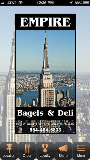 Empire Bagels and Deli