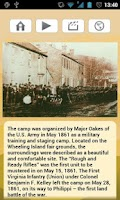 Screenshot of Wheeling Civil War Tour