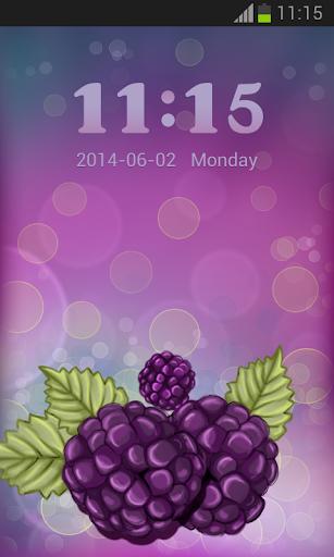 儲物櫃紫色