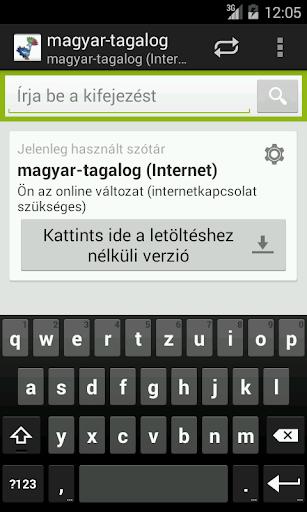 Magyar-Tagalog szótár