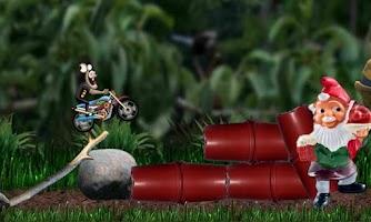Screenshot of MotoCross Race - SuperBike