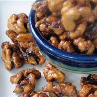 Chinese Fried Walnuts.