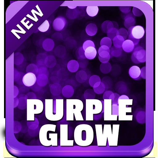 Purple Glow Keyboard