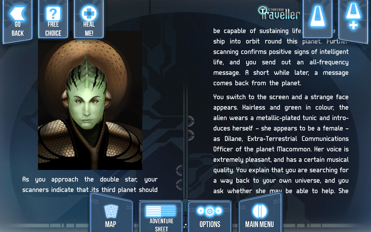 Starship Traveller- screenshot