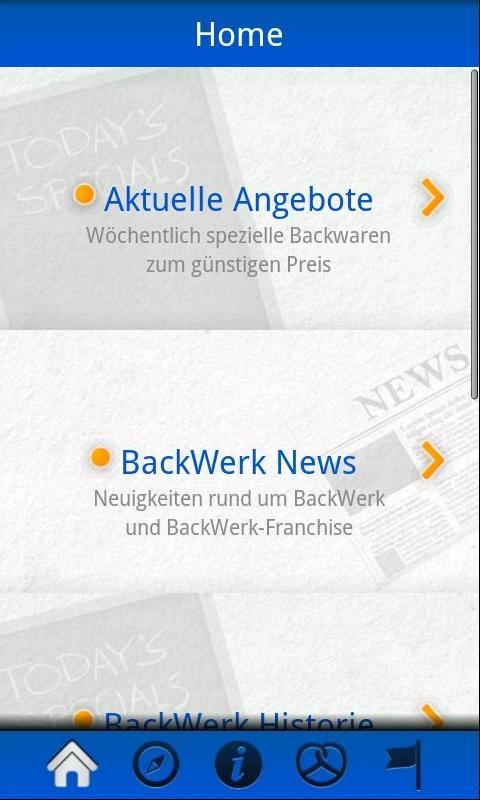 BackWerk- screenshot