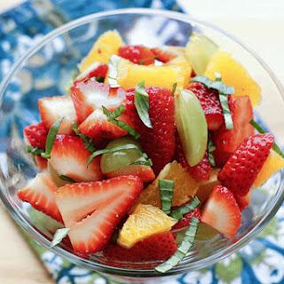 Basil Fruit Salad