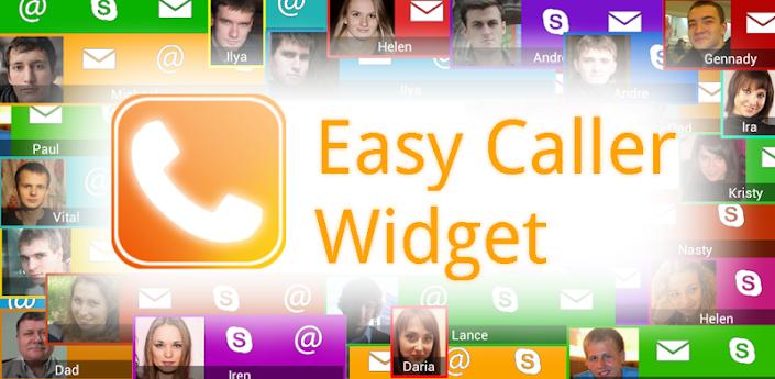 Написали с другом первое приложение: Easy Caller Widget