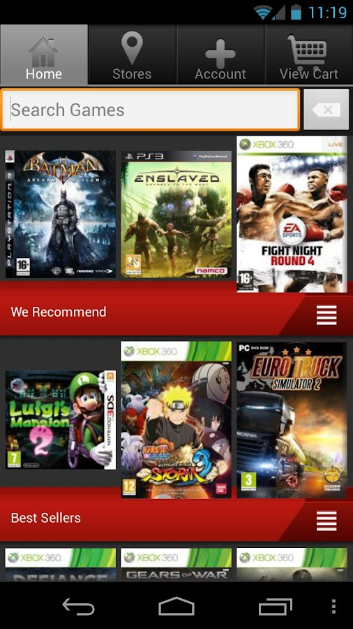 GameStop International - screenshot