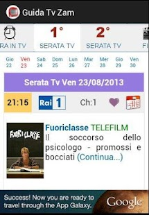 Guida Tv Gratis Zam- screenshot thumbnail