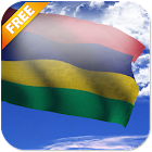 3D Mauritius Flag LWP icon
