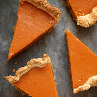 Dad's Sweet Potato Pie.