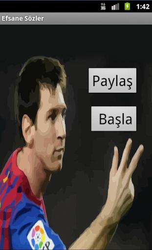 Efsane Futbol Sözleri
