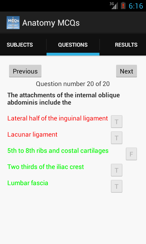 Anatomy MCQs Free- screenshot