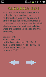 Algebra 102 APK screenshot thumbnail 3