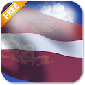 3D Latvia Flag Live Wallpaper icon