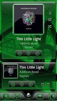 Screenshot of Serenity UberMusic Skin Green
