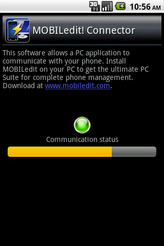 MOBILedit! PC Suite- screenshot