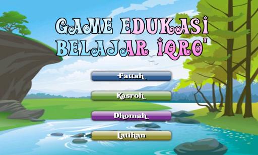 Game Edukasi Belajar Iqro