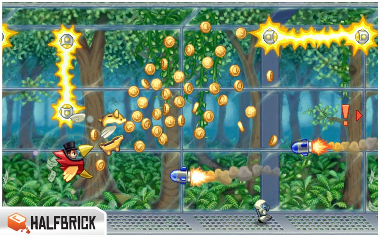 Jetpack Joyride - screenshot