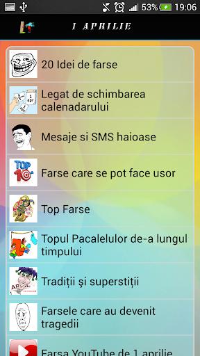 Pacaleli Farse Mesaj 1 Aprilie