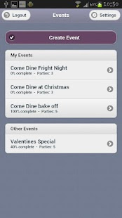 Come Dine - screenshot thumbnail
